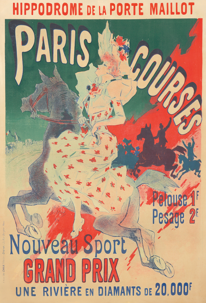 Paris Courses. 1890