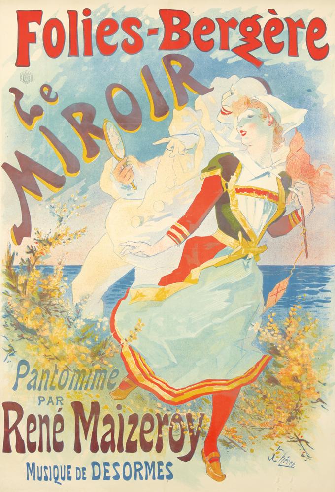 Folies-Bergère / Le Miroir. 1892