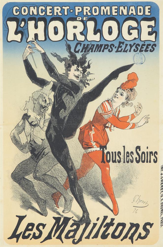 L'Horloge / Les Majiltons. 1876
