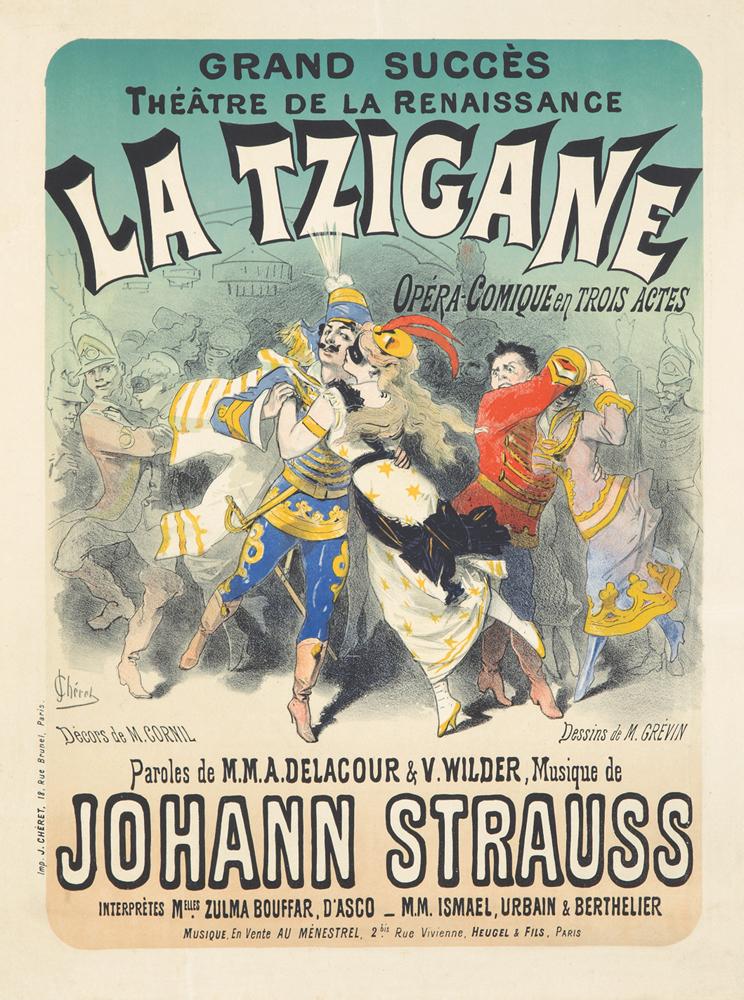 La Tzigane. 1877