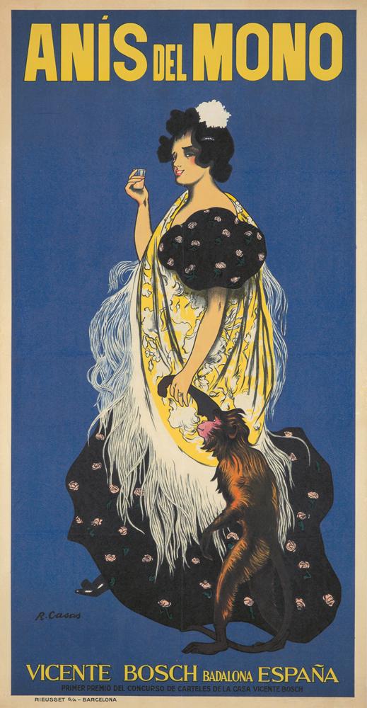 Anís del Mono. 1897