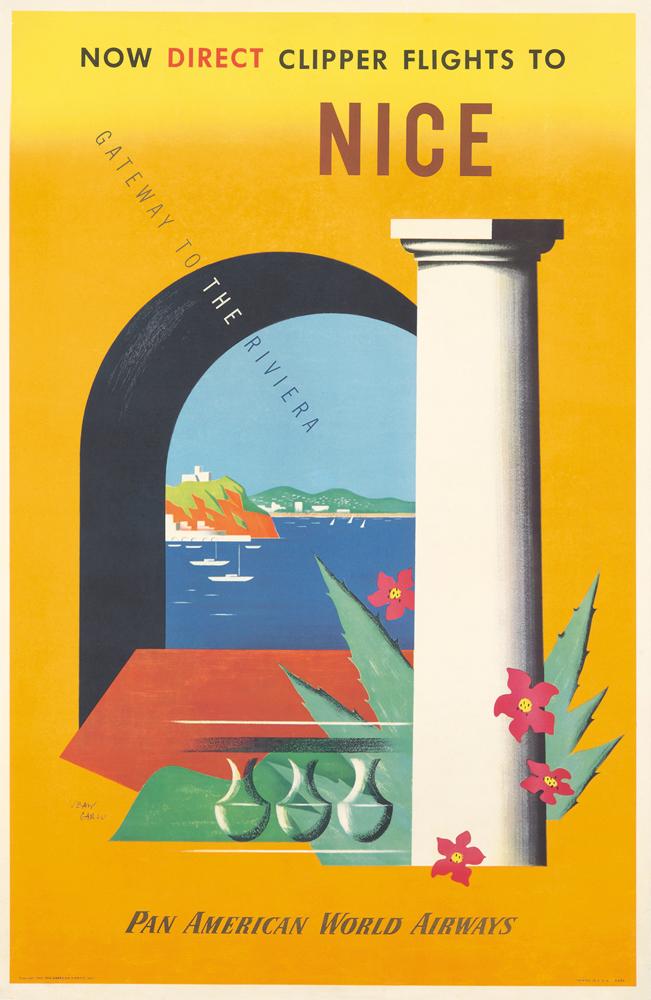 Pan American / Nice. 1950