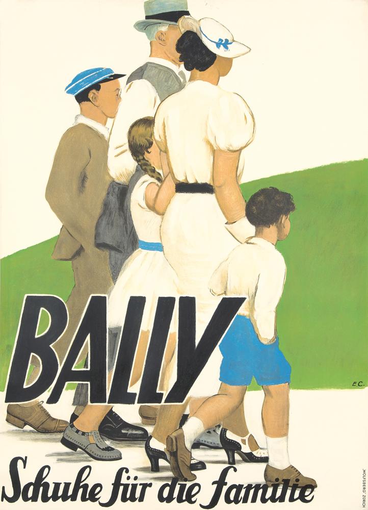 Bally / Schuhe für die familie. 1935