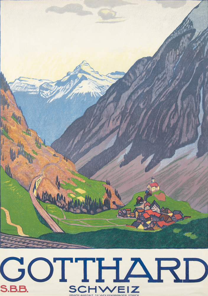 Gotthard / Schweiz. ca. 1920
