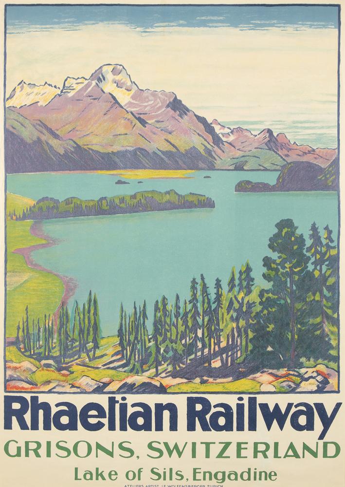 Rhaetian Railway. 1916