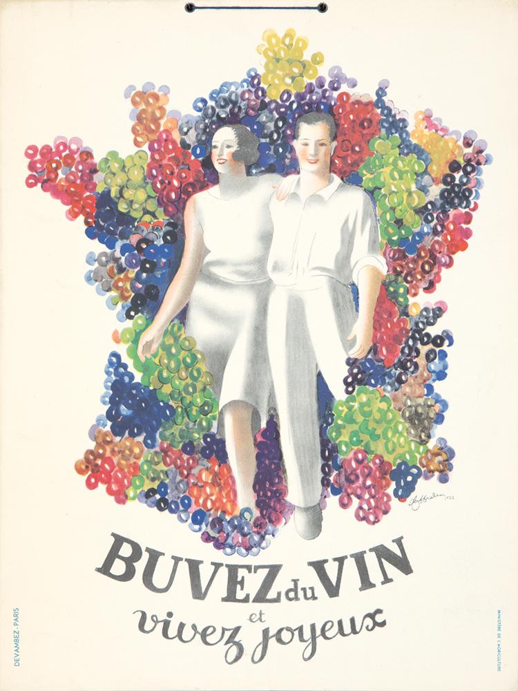 Buvez du Vin. 1933