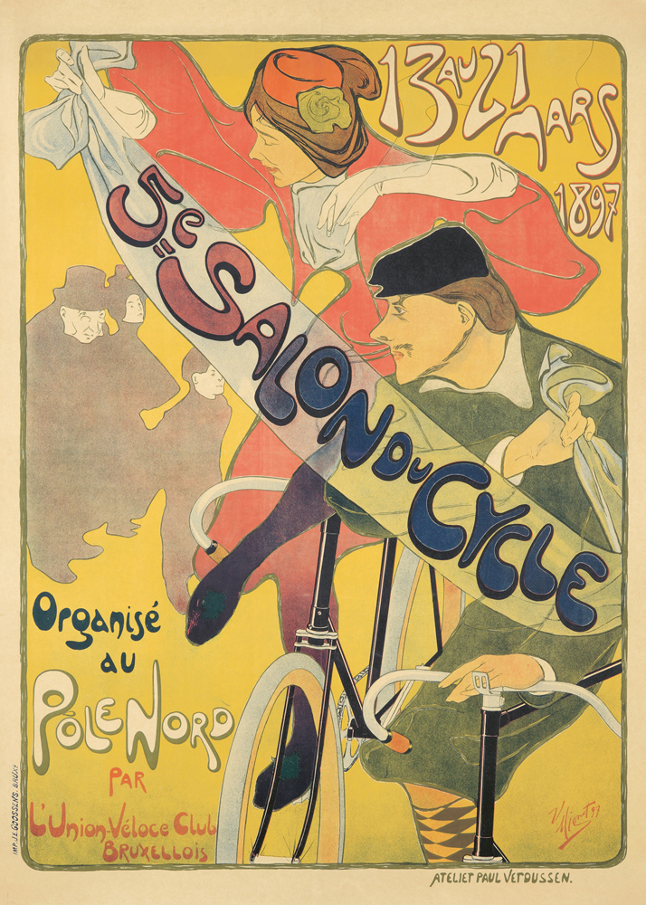 5e Salon du Cycle. 1897