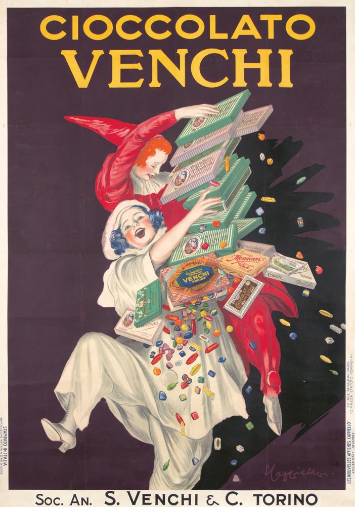 Cioccolato Venchi. 1923