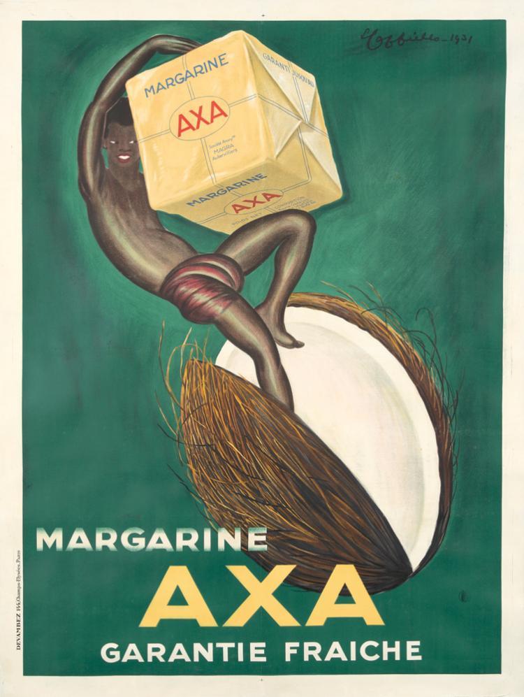 Axa Margarine. 1931