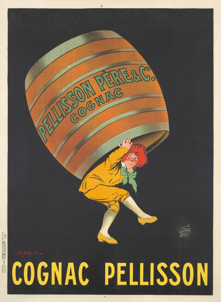 Cognac Pellisson. 1907