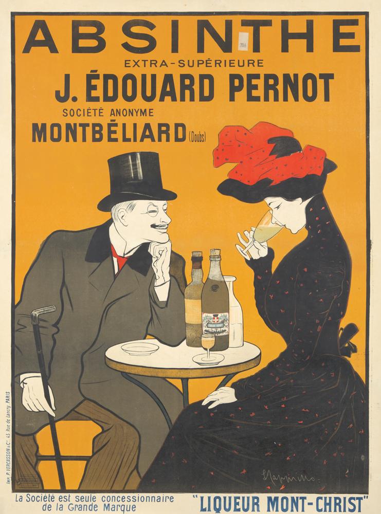 Absinthe J. Edouard Pernot. 1902
