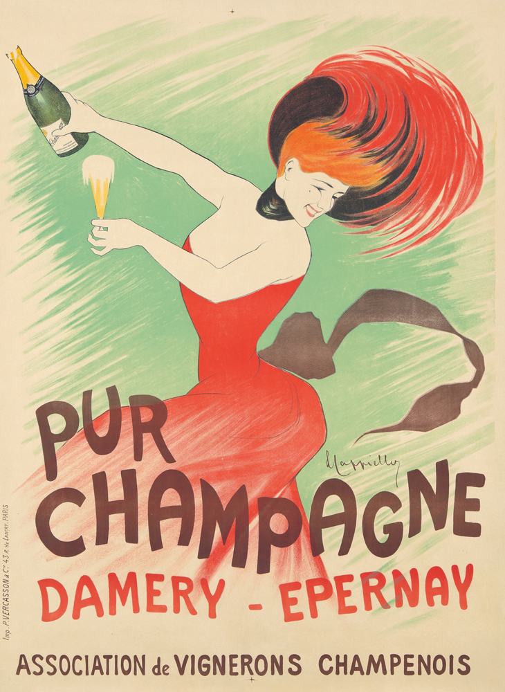 Pur Champagne / Damery-Epernay. 1902