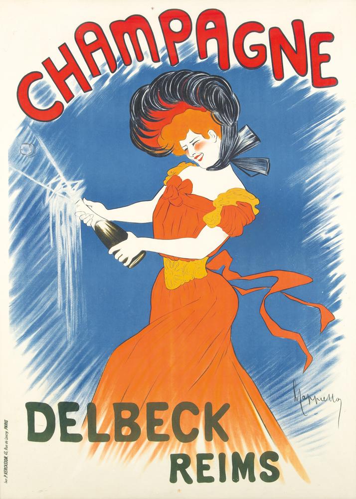 Champagne Delbeck / Reims. 1902