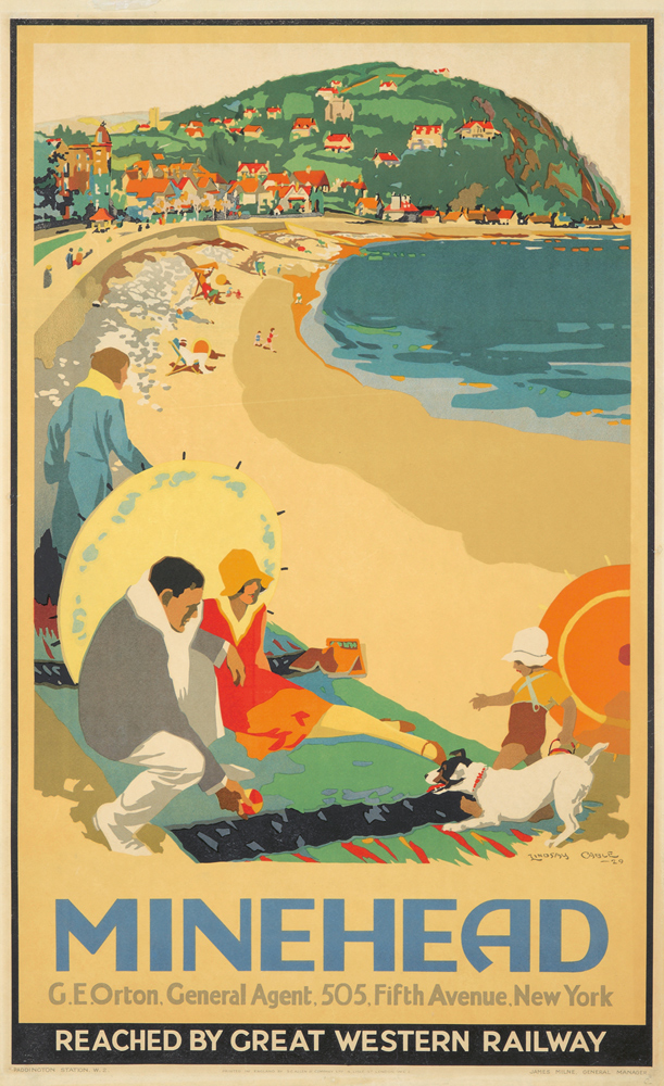 Minehead. 1929