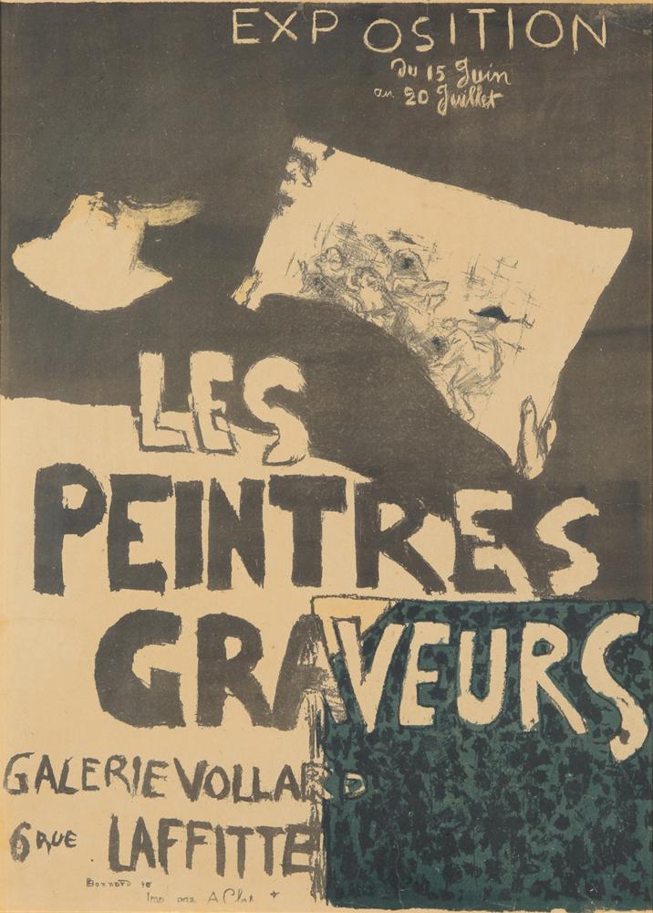 Les Peintres Graveurs. 1896