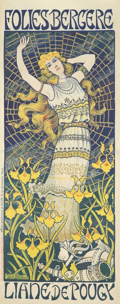 Folies-Bergère / Liane de Pougy. 1898