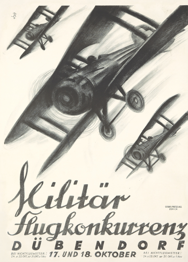 Militär Flugkonkurrenz. 1925