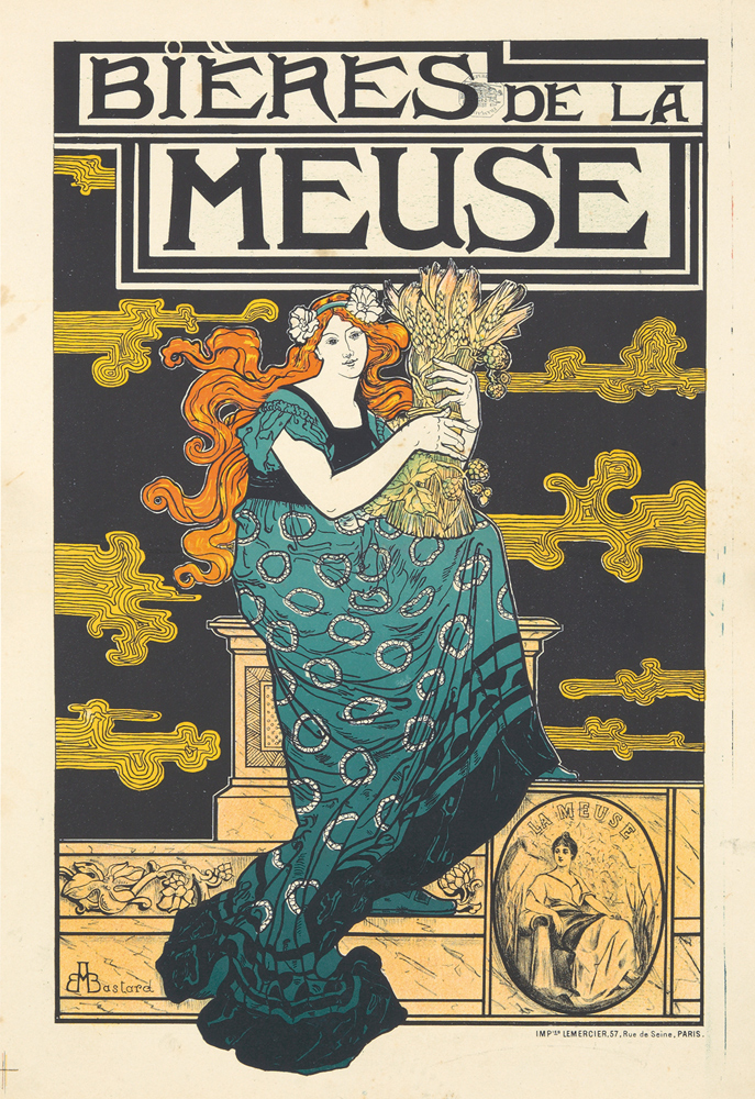 Bières de la Meuse. 1896