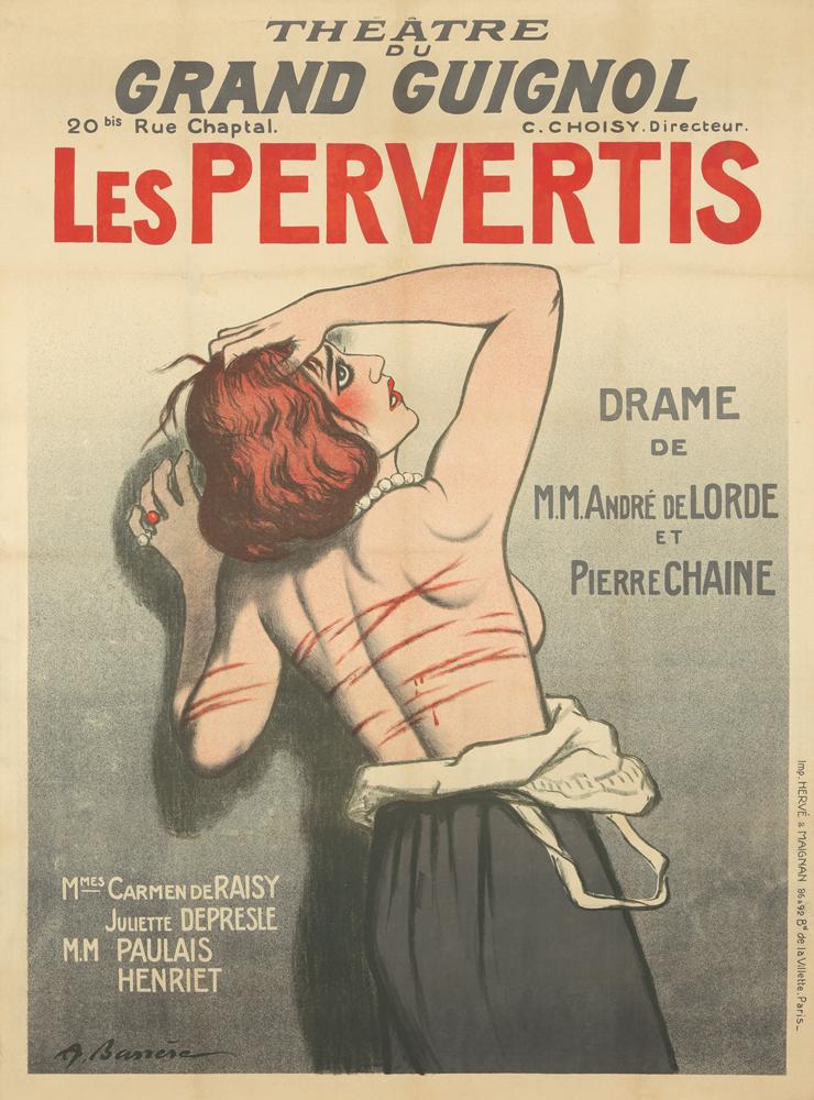 Theatre de Grand Guignol / Les Pervertis. 1920