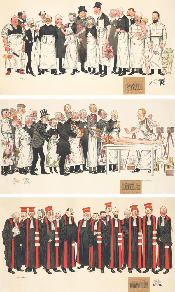 Faculté de Médicine et Professeurs à la Faculté de Droit. 1905