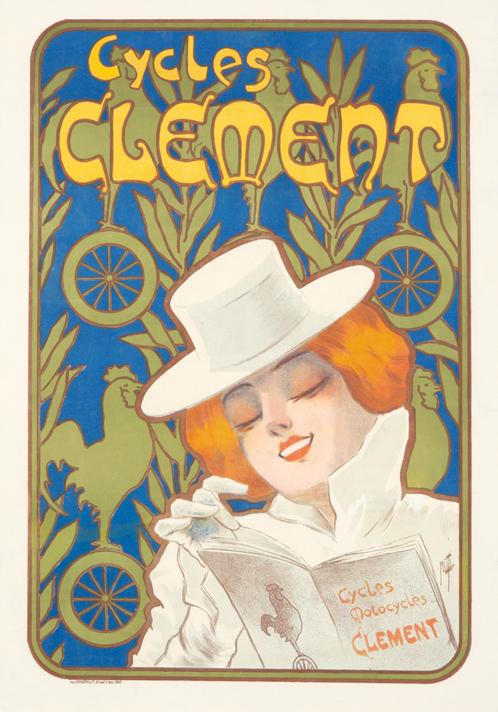 Cycles Clement. ca. 1895