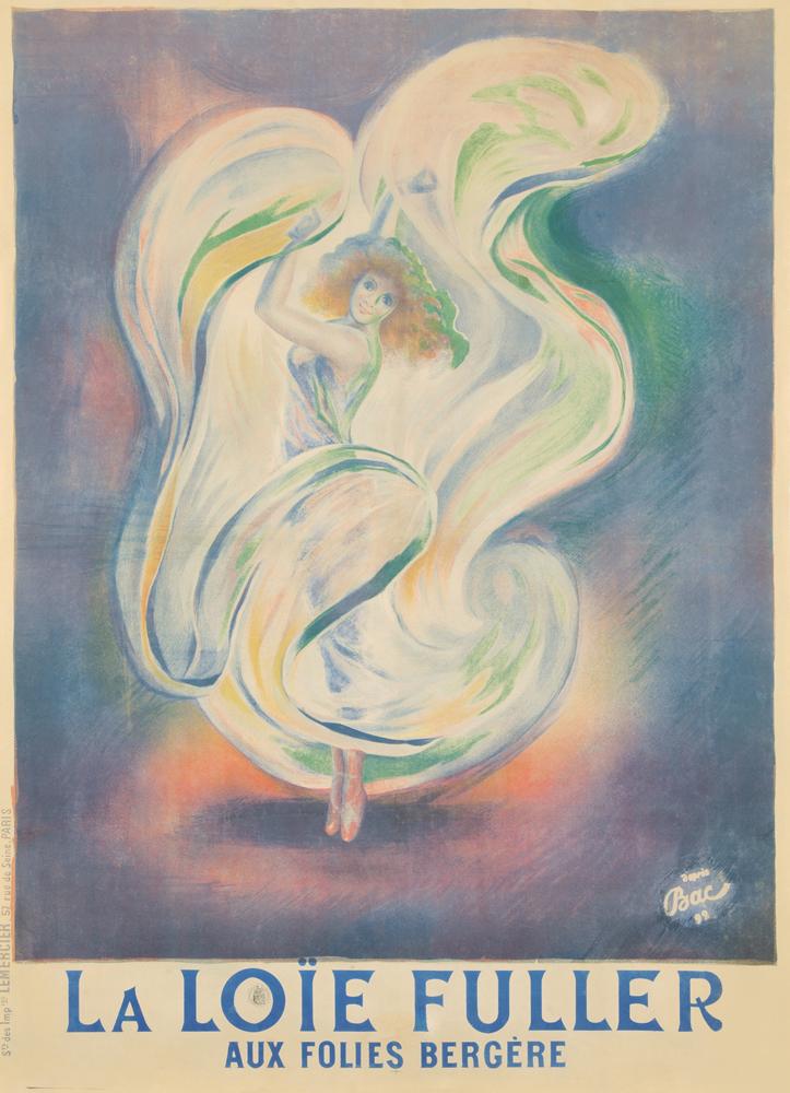 La Loïe Fuller / Aux Folies Bergère. 1892