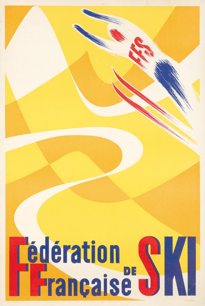 Fédération de Ski. ca. 1955