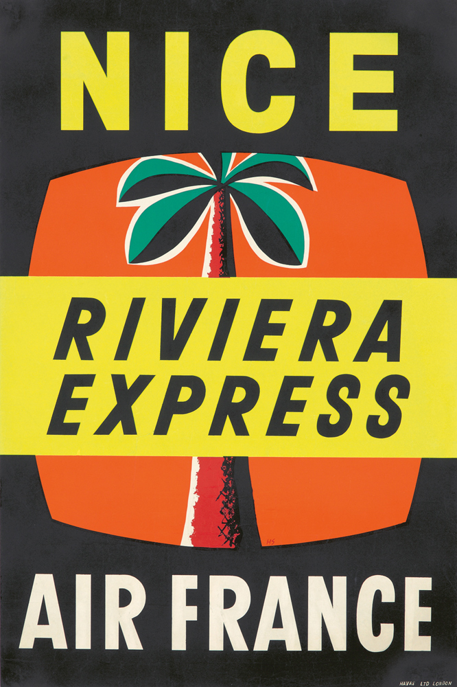 Air France / Riviera Express. ca. 1950