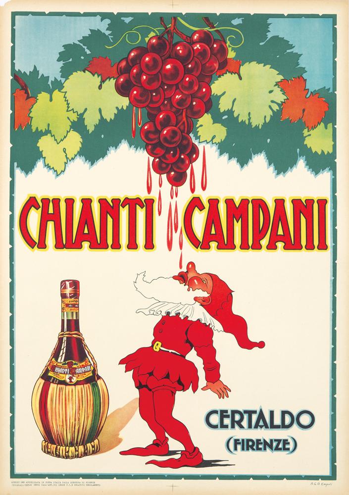 Chianti Campani. 1955