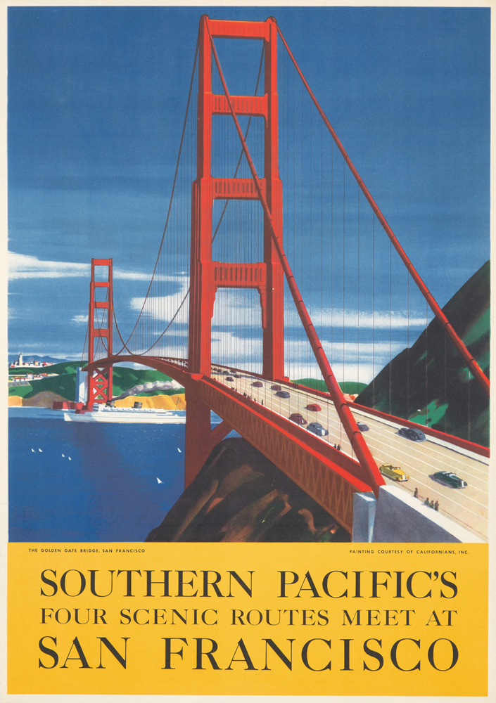 Southern Pacific / San Francisco. ca. 1940