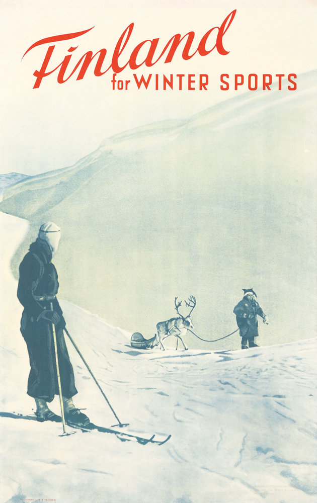 Finland / Winter Sports. ca. 1940