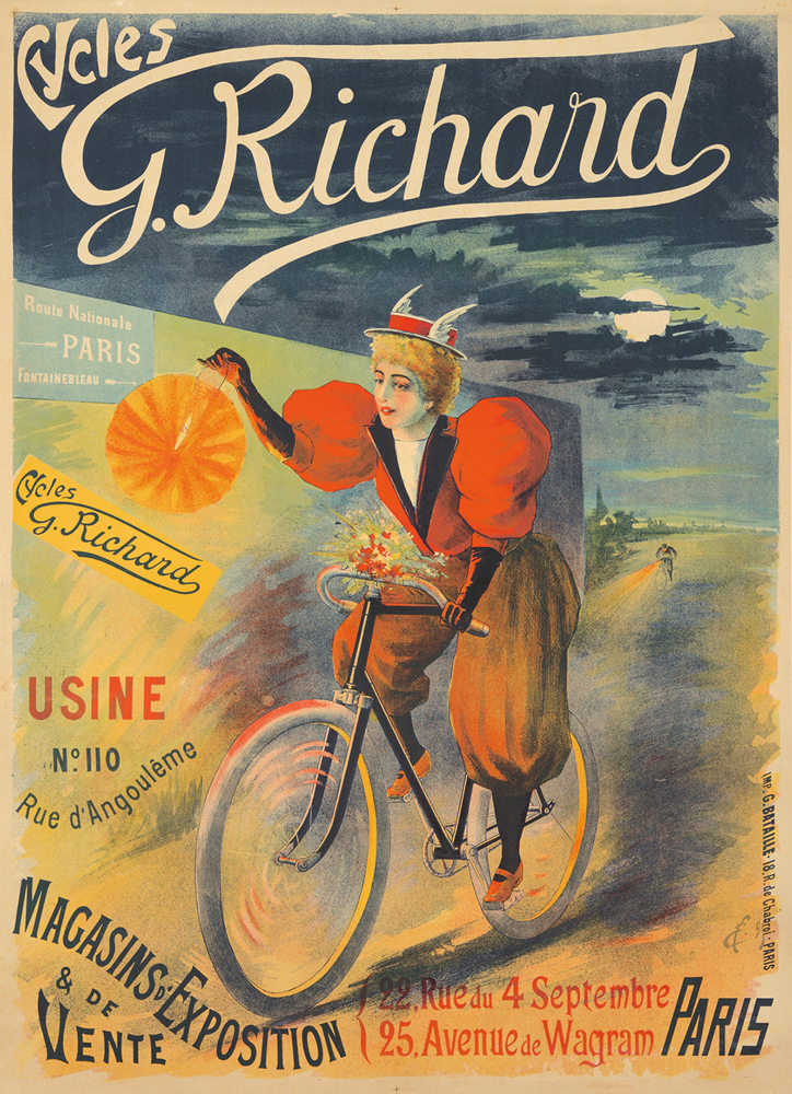 Cycles G. Richard. ca. 1895