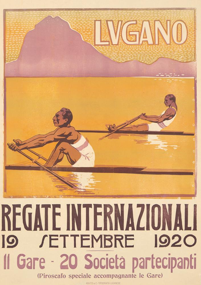 Regate Internazionali / Lugano. 1920