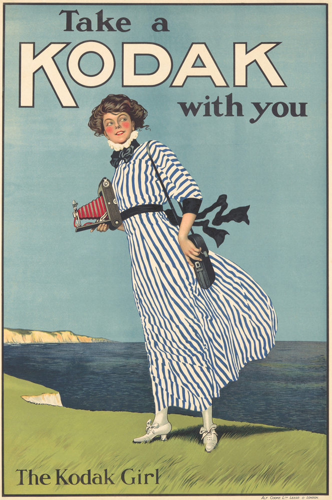 Kodak / The Kodak Girl. ca. 1920