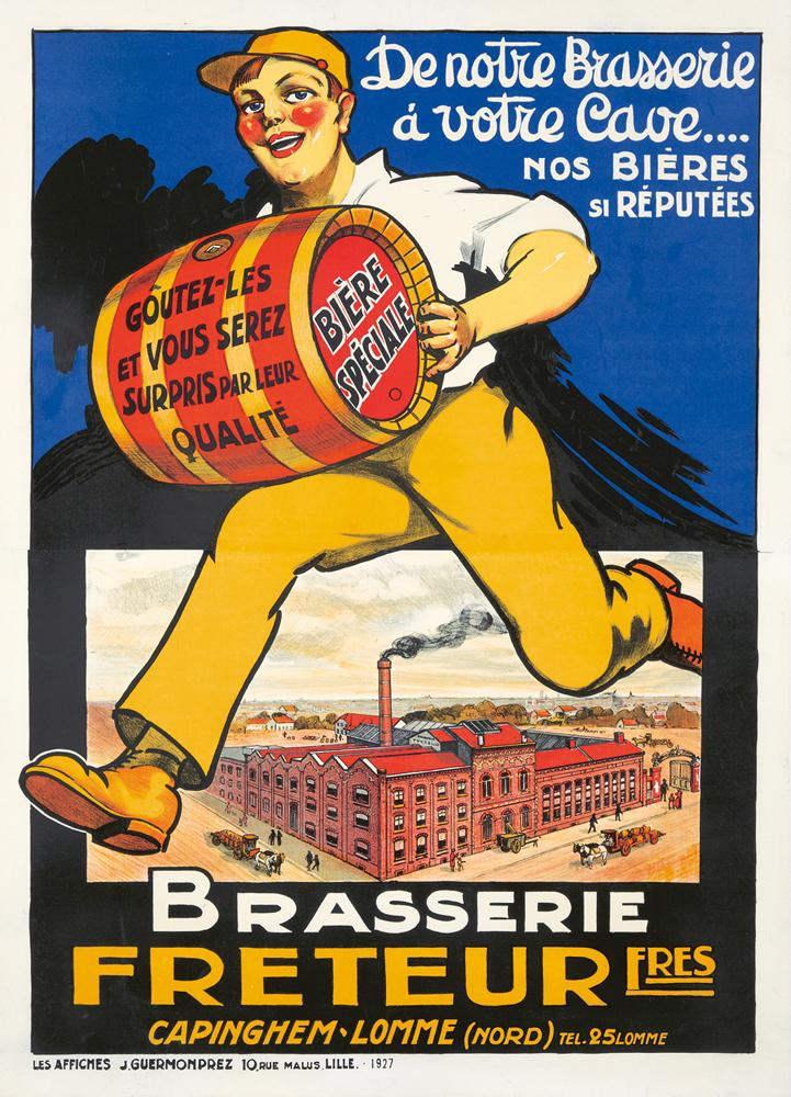 Brasserie Freteur. ca. 1914