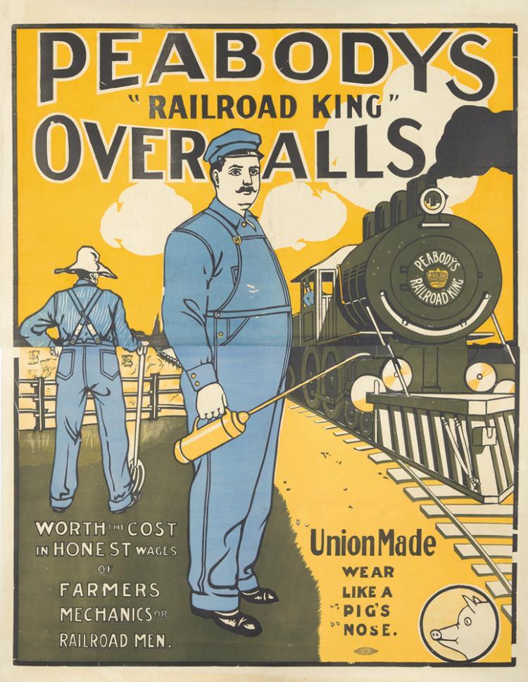 Peabodys Overalls. ca. 1911