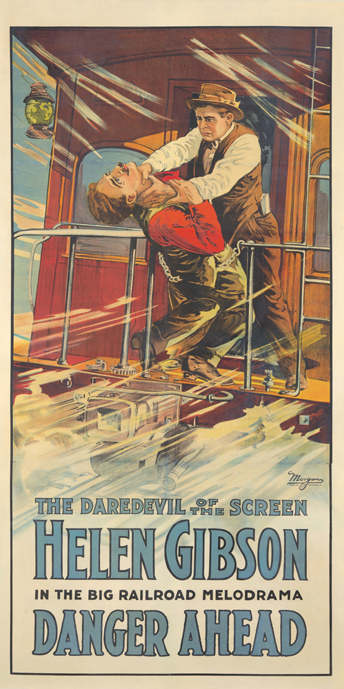 Danger Ahead. 1918