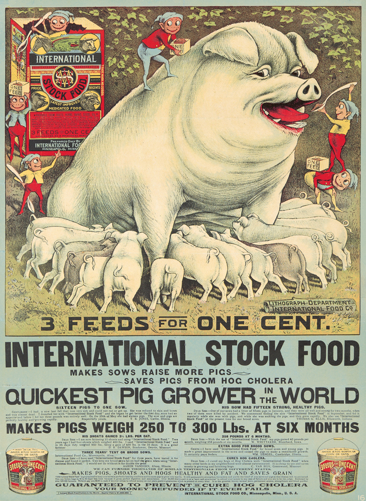 International Stock Food. ca. 1905