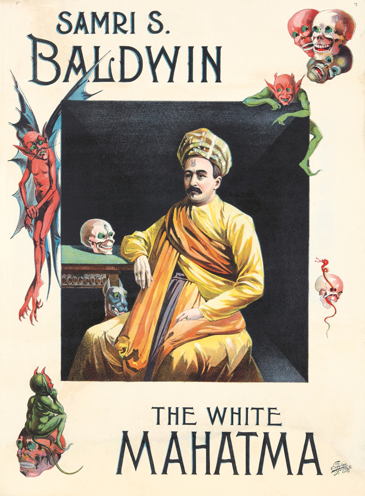 The White Mahatma. ca. 1905