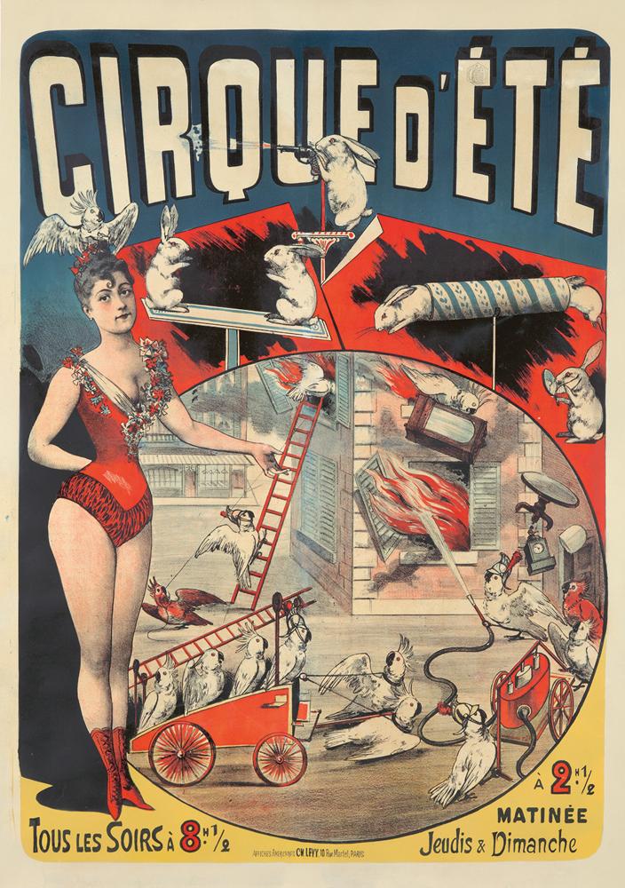 Cirque d'Été. ca. 1886