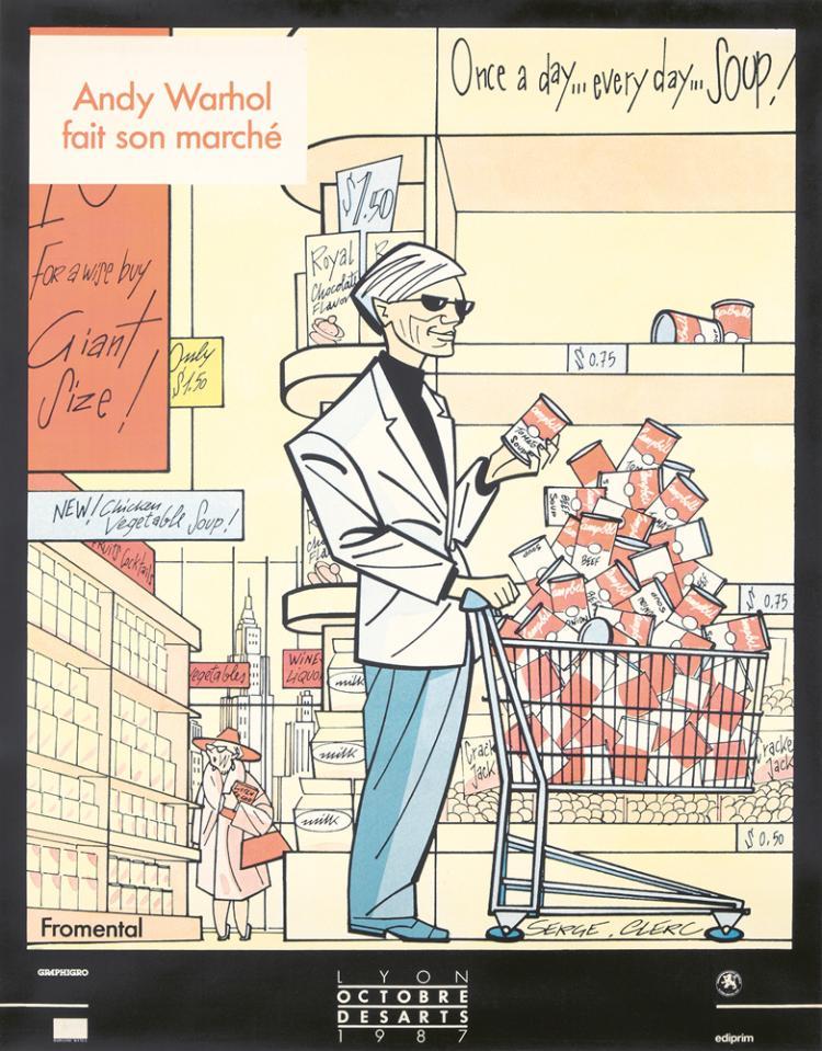 Andy Warhol fait son Marché. 1987