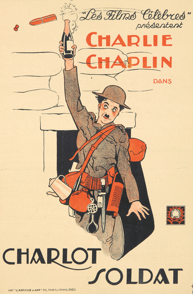 Charlot Soldat. 1918