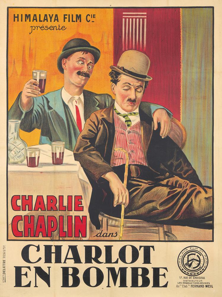 Charlot en Bombe. 1915