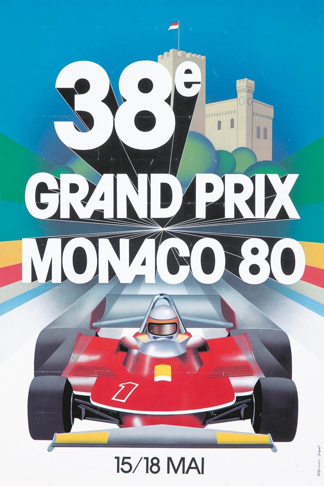 38e Grand Prix Monaco. 1980