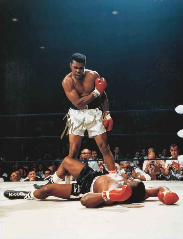 Ali vs. Liston. 1965