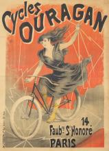 Cycles Ouragan. ca. 1895