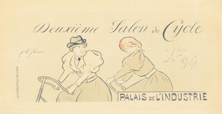 Deuxième Salon du Cycle. 1894