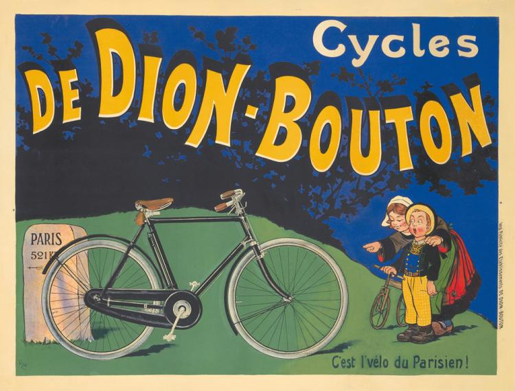 Cycles de Dion-Bouton. ca. 1905