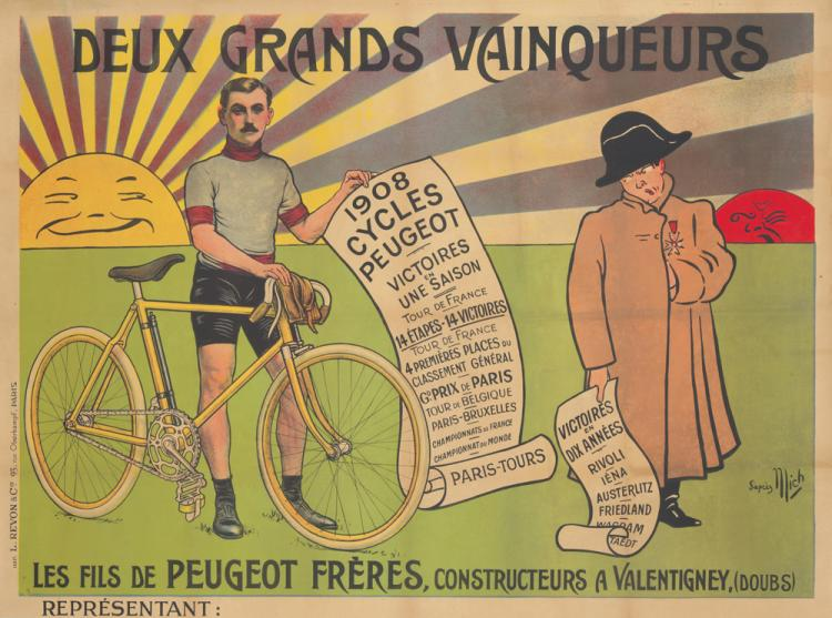Cycles Peugeot. 1908
