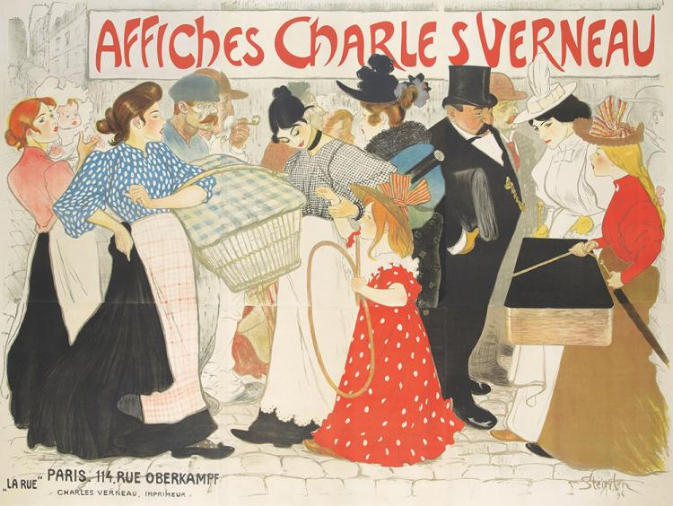 Affiches Charles Verneau.